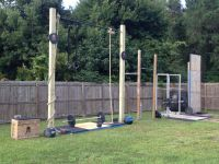 Backyard gym, Gym and Backyards on Pinterest