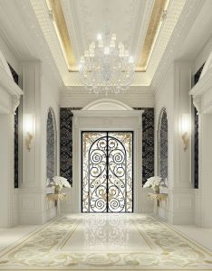 Luxury interior design for an entrance lobby by ions ionsdesign also www rh pinterest