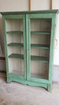Chalk painted bookcase | My Creations | Pinterest ...