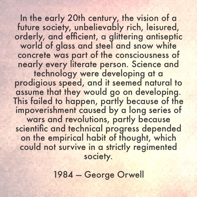 George Orwell 1984 Quotes Stunning 1984 Quotes Explained Picture
