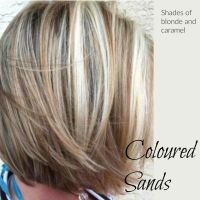 Coloured sands. Blondes with dark lowlights | hair colors ...