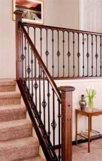 Indoor Railings and Banisters | Interior Stair Railings ...