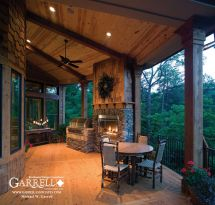Rustic Porches Amicalola Cottage - Style House