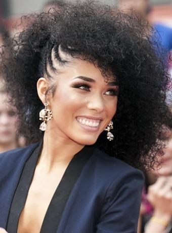 Kreesha Turner Afro Plaits Hairdo Hairstyle Channel Women
