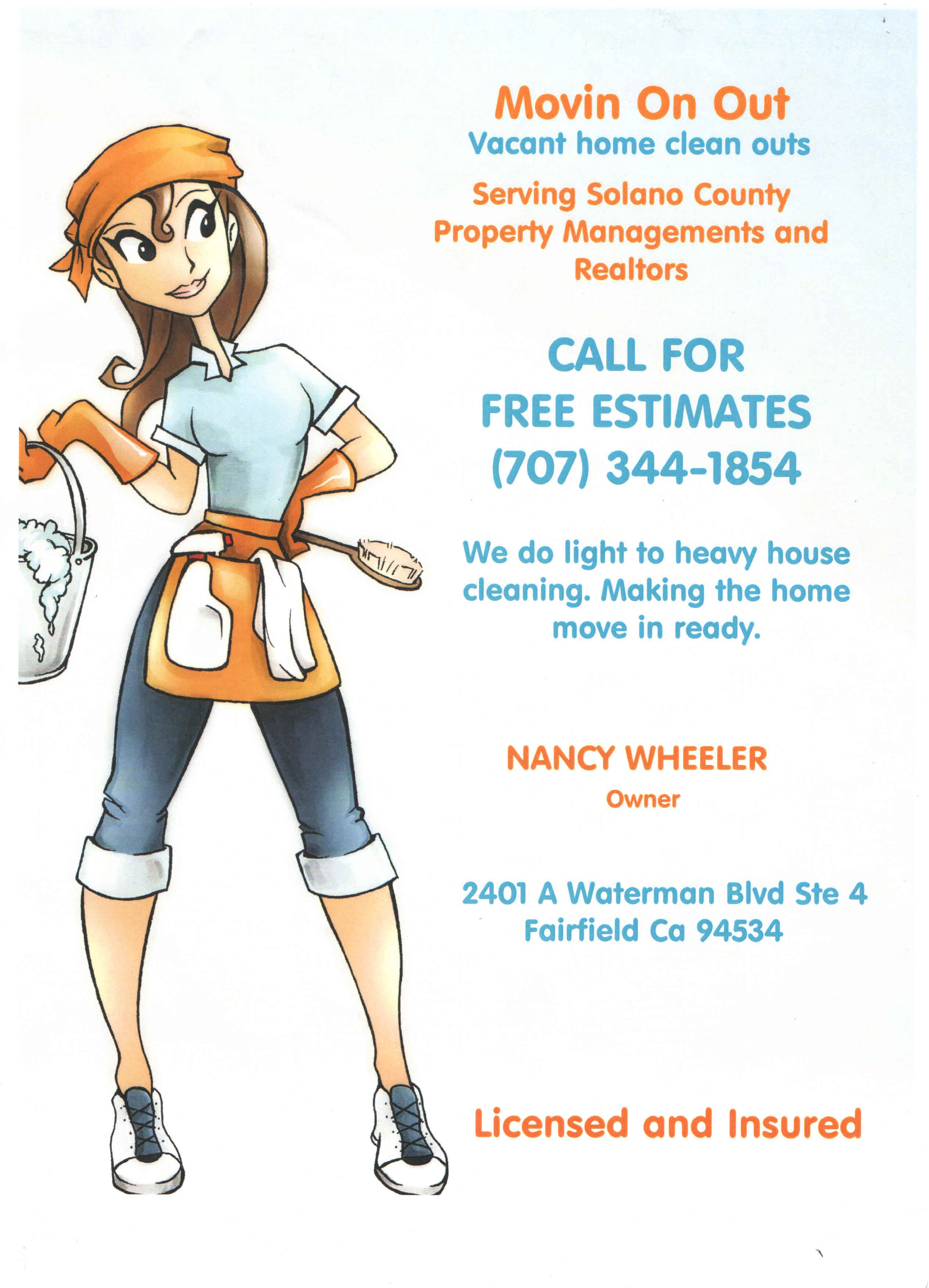 Housekeeping Flyers Flyer Answers Faster At Ask Office Cleaning