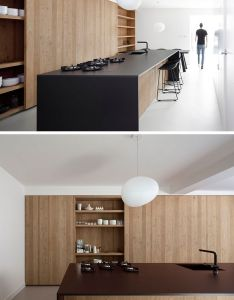 Kitchen design idea integrate your cooktop with counter great pin for also rh pinterest