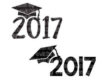 SVG 2017 Graduation DXF Graduation Cap Grad by