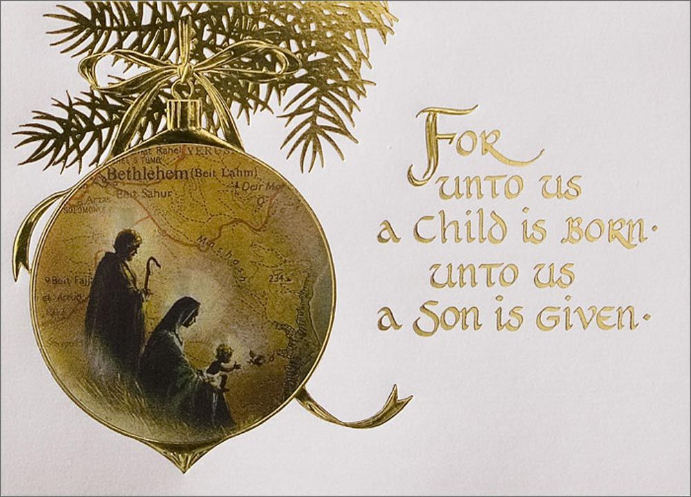 Christian Christmas Greeting Cards Jesus Is Awesome