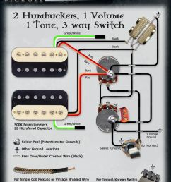 guitar wiring diagrams 2 pickups 2 volume 1 tone 2 two pickup guitar wiring diagram two [ 800 x 1012 Pixel ]
