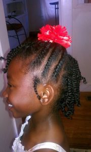natural hair styles black young
