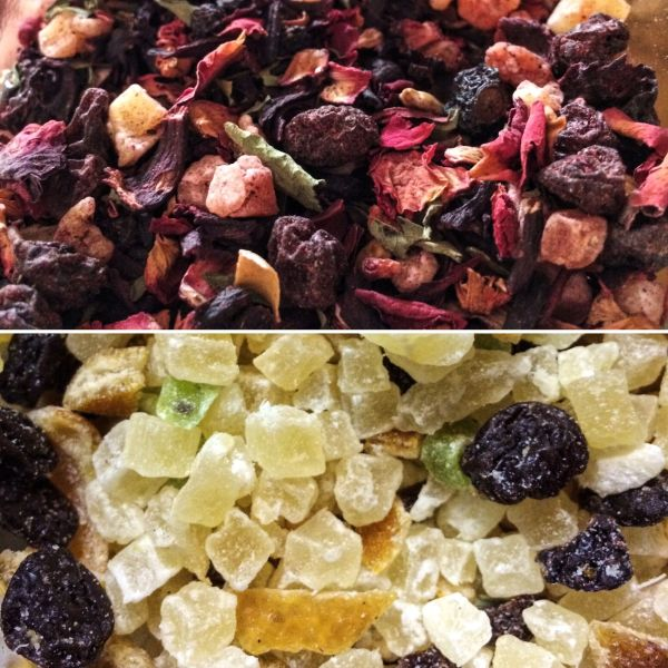Israeli Tea Of Sweet Dried Fruit Infused With