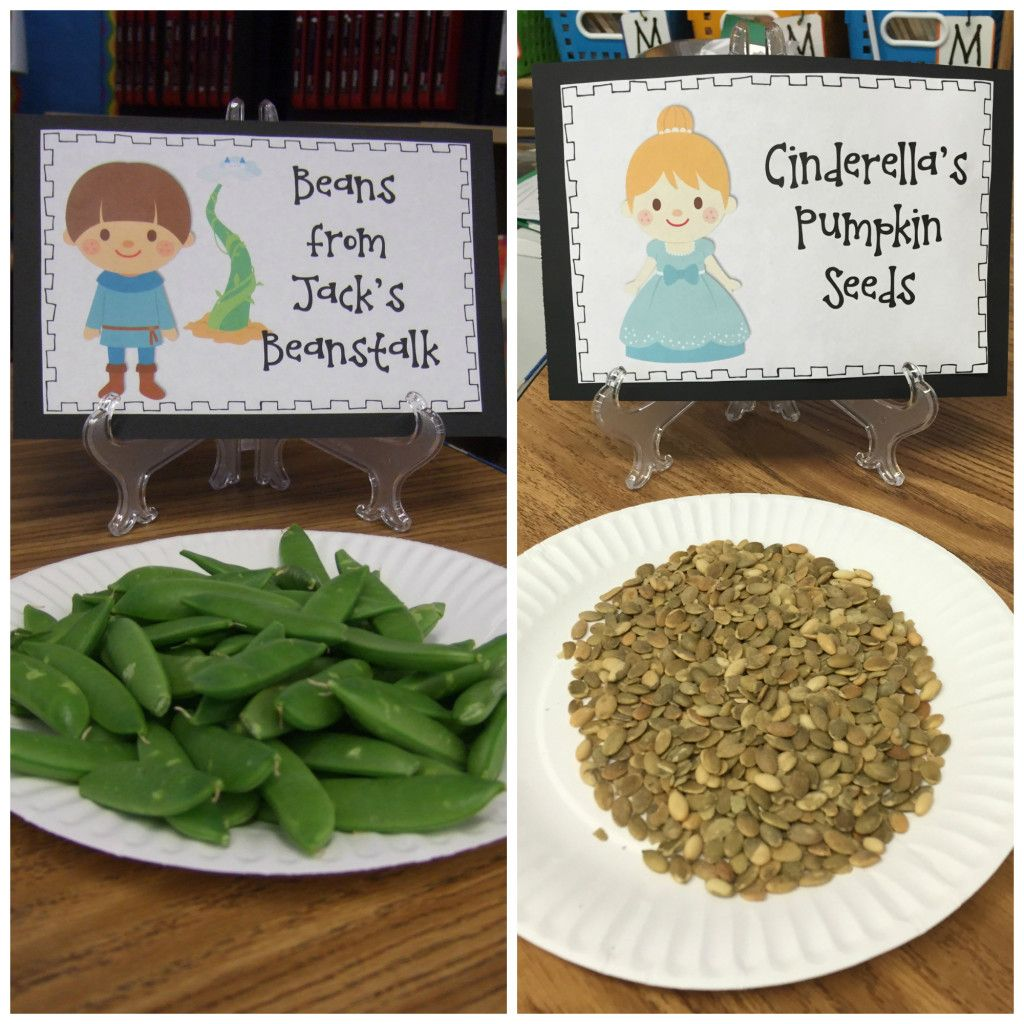 Free Fairy Tale Snack Signs