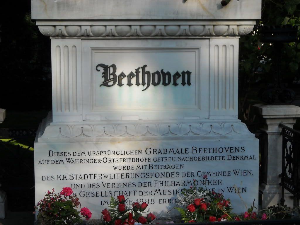 Ludwig Von Beethoven S Grave Zentralfriedhof Vienna