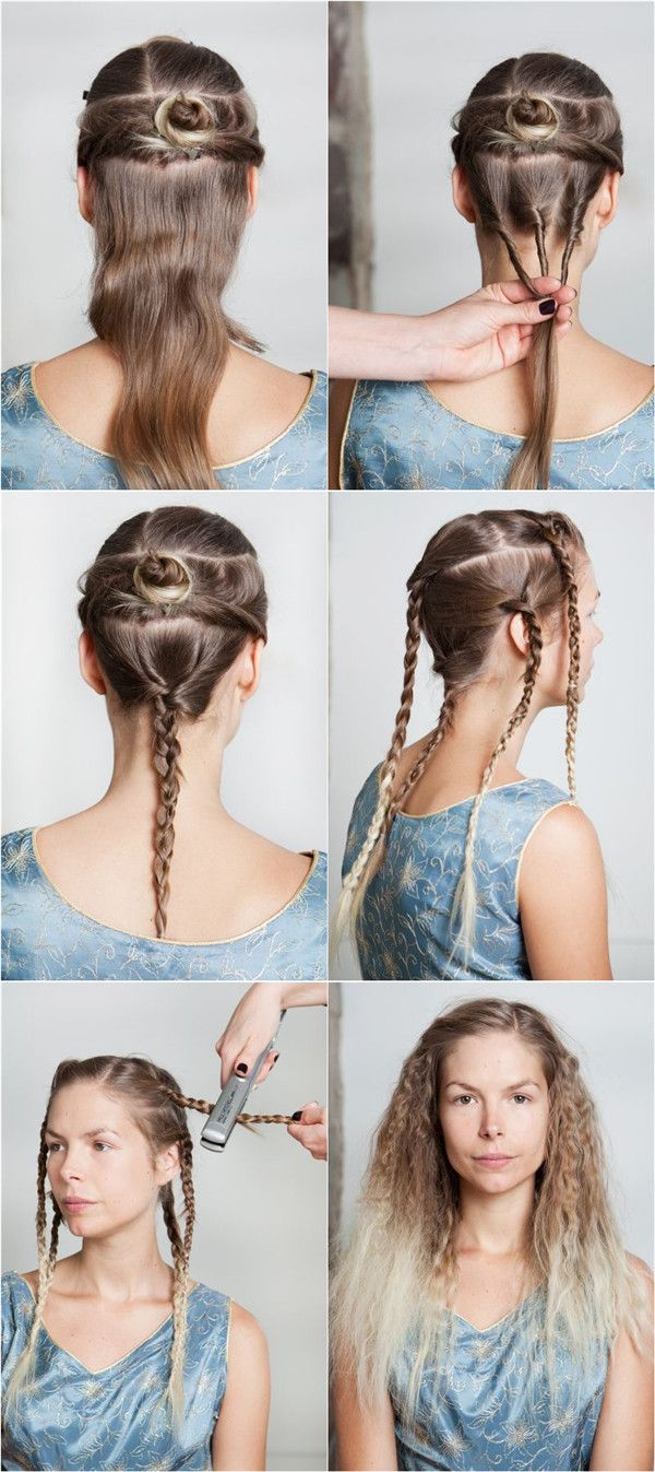 How To Make Ombre Curly Hair Tutorial Do It Yourself Pinterest
