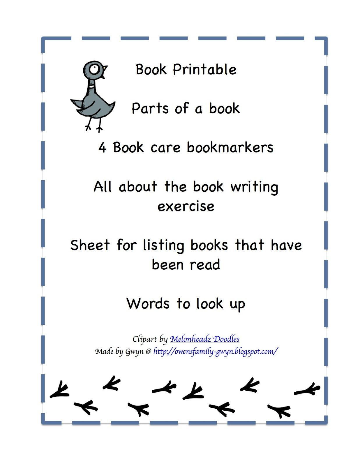 Preschool Printables Don T Let The Pigeon Drive The Bus