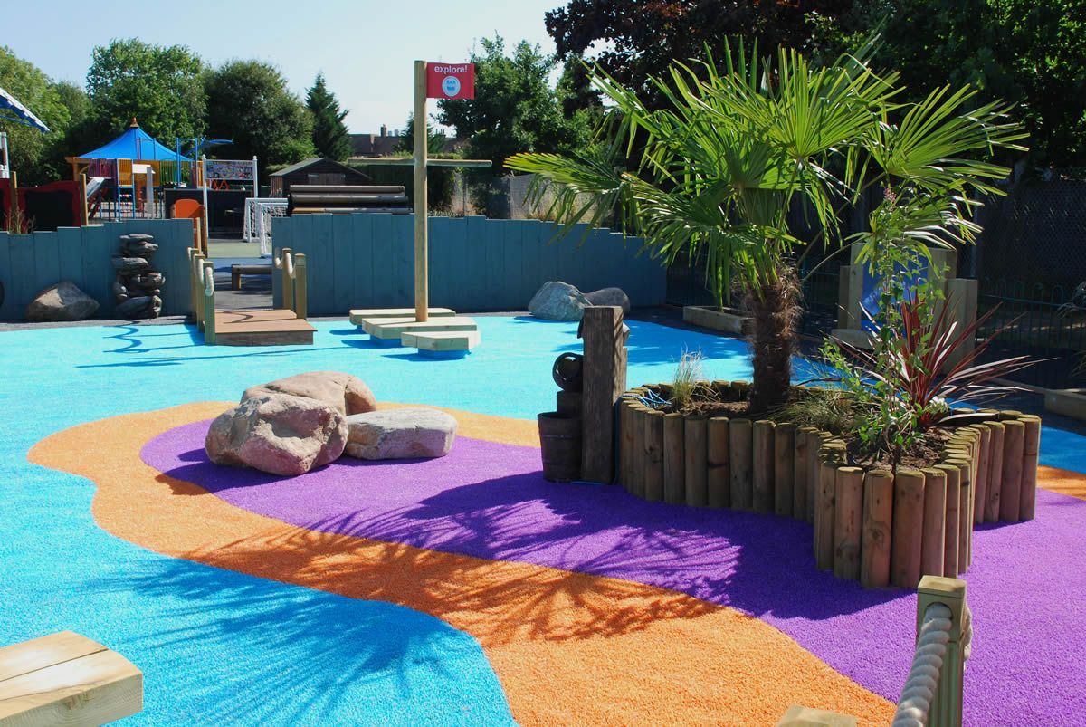 Garden Design London Aménagement De La Cour De Récré