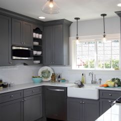 Grey Kitchen Cabinets Redo Ideas This Gorgeous Light French Gray Sw 0055 Has Us