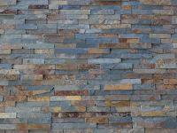 Multi Colour Slate Split Face Mosaic Tile Rock Panels -3D ...
