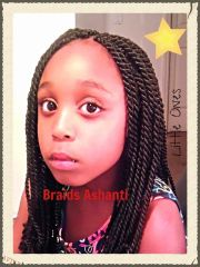 senegalese twists little natural
