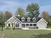 Country House Plans for Ranch Style Homes