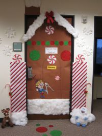 Candy Cane Classroom Door Decorations