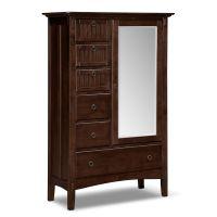 Bedroom solutions- Bedroom Furniture - Arts & Crafts Dark ...