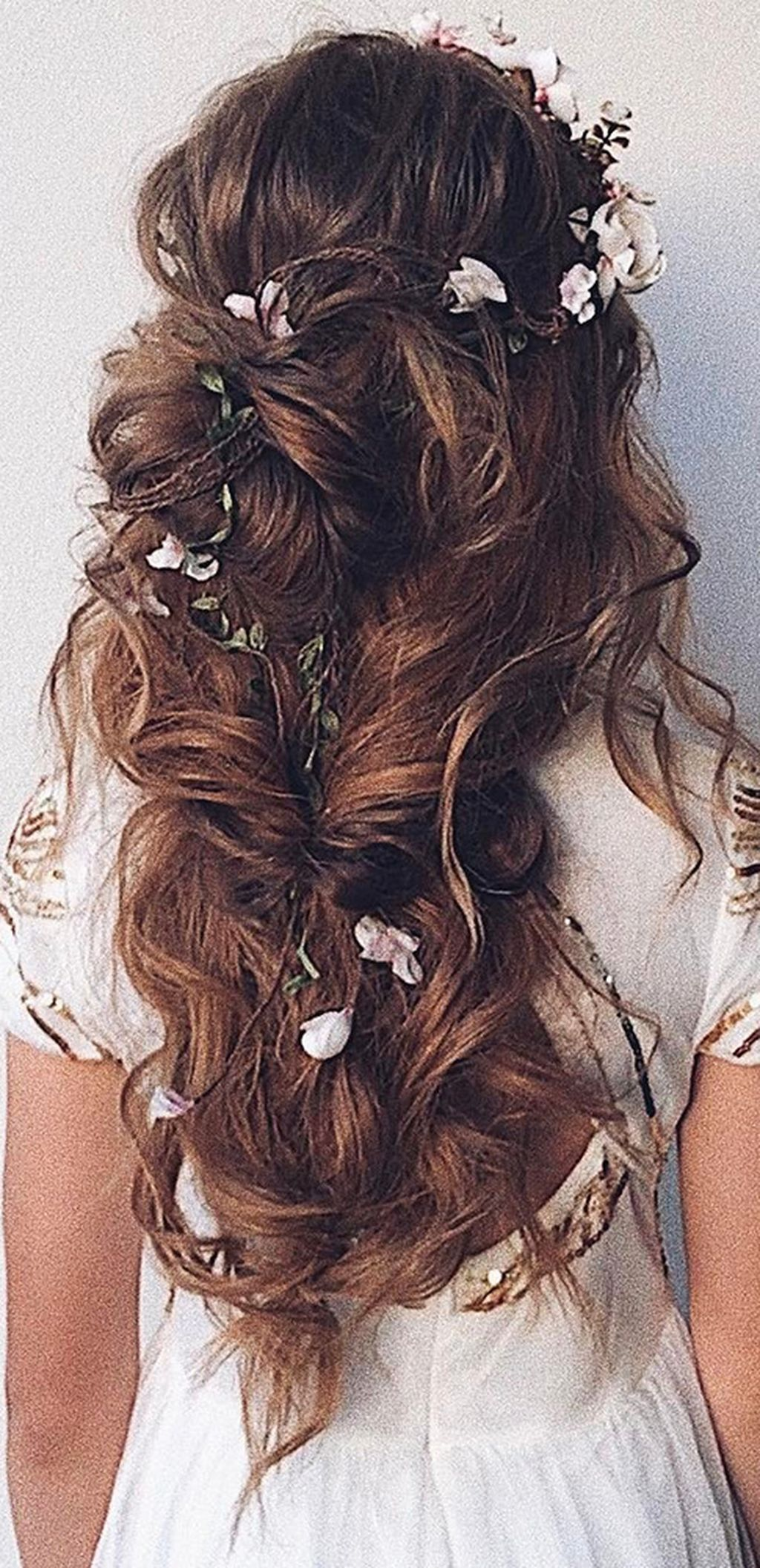 135 Stunning Bohemian Wedding Hairstyle Ideas Every Women Will Love