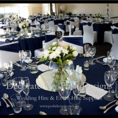 Teal Chair Covers For Wedding Argos Wheelchair Navy Blue Organza Sashes White Lycra