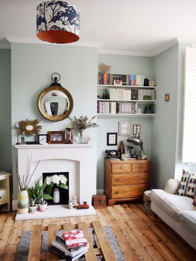 eclectic modern bohemian vintage interior decor farrow ...