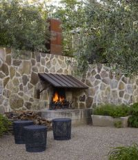Outdoor Stone Fireplaces - Atticmag | Outside | Pinterest ...