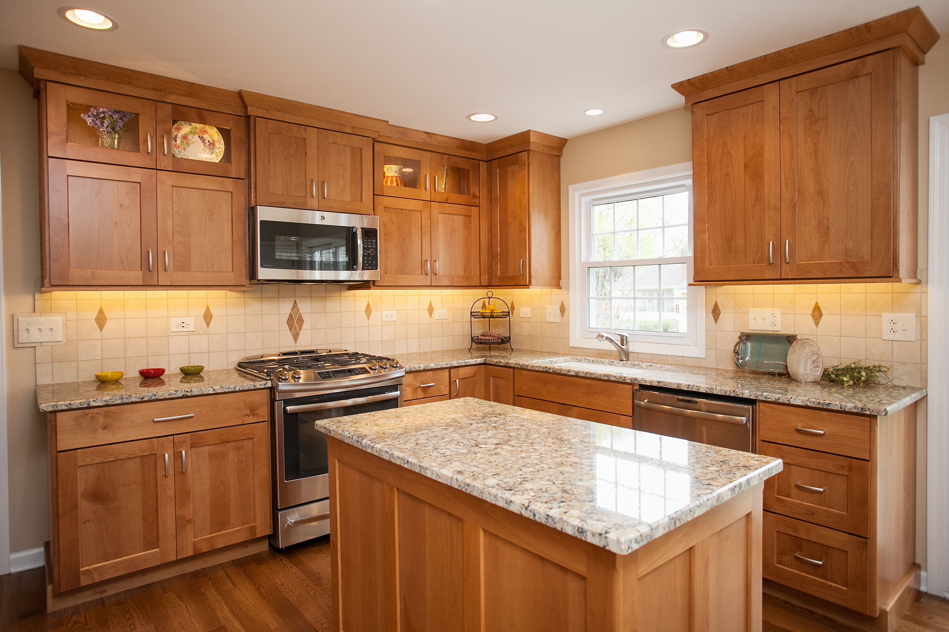 natural oak cabinets  Google Search  Interiors  Pinterest  Google search Kitchens and Alder