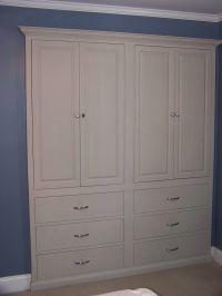 closet cabinets | Built-in Closet Cabinets (1) | closets ...
