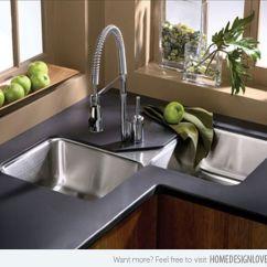 Elkay Kitchen Sinks Undermount Cabinets Cape Coral 15 Cool Corner Sink Designs | Sink, ...