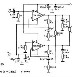 soft wiring tda 2050 simple amp circuit bridge tda2050 amplifier circuit diagram pdf tda 2050 simple [ 1280 x 982 Pixel ]