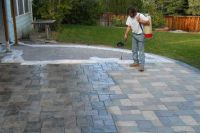 Hand Stained Patio with Stamped Concrete Littleton CO ...