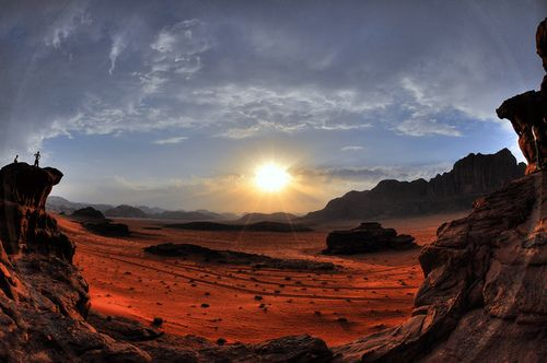 ????? ??? ????? ?? ?wadi rum sunset??