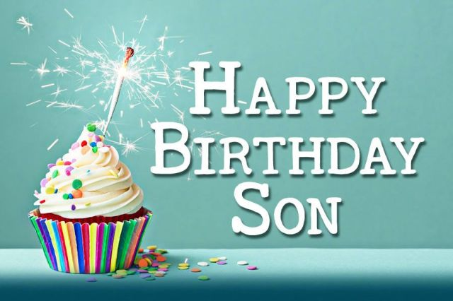 Happy birthday to my sweet little man i hope you have a
