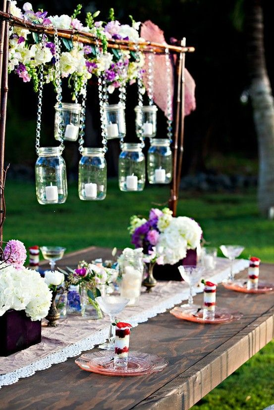Cute Outdoor Wedding Reception Decoration Ideas Receptions