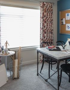 Projects rochelle cote the craft room from ruby showhome also rh za pinterest