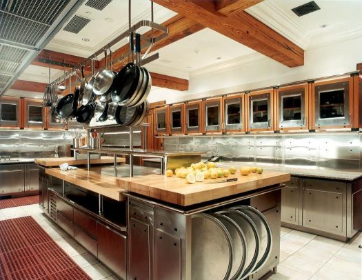 Developing Functional Commercial Kitchen Design For Your Convenience Large With All Equipment