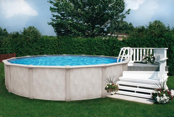 Small Wood Deck Above Ground Pool Inspiration Deco Pools Decking And