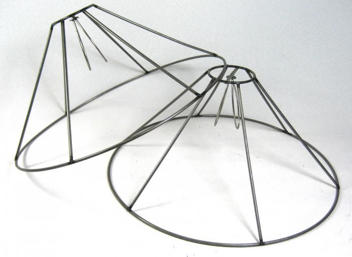 How to make a drum lamp shade frame galleryimage lamp shade wire frame diy lampshade and greentooth Images