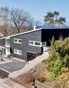 Asymmetrical allure with  fantastic structure this house is unique and spacious http also rh pinterest