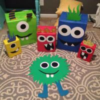 DIY Monster Party Decorations! Monster Birthday Decor So ...