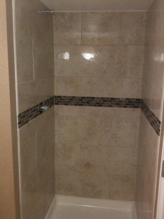 Image Result For 12x24 Small Tile Shower Pictures 42 Inch