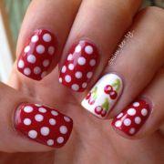 cherry nail art ideas