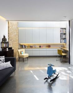 Brackenbury house by neil dusheiko architects  london extension also arch nice spaces pinterest rh