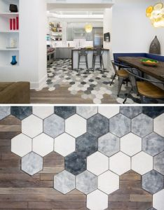 ideas for using hexagons in interior design and architecture this new york apartment also rh pinterest