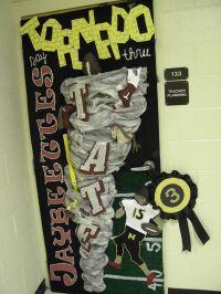 homecoming door decorations | Homecoming Door Decorating ...