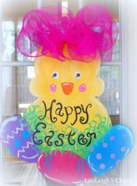 Easter Door Hanger, Easter Decoration, Easter Door